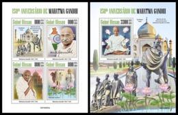 GUINEA BISSAU 2019 - Mahatma Gandhi. M/S + S/S. Official Issue [GB190805] - Guinea-Bissau