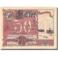 Billet, Autriche, Aschach An Der Donau, 50 Heller SPL, FS 53IIB05 - Autriche