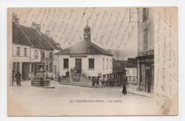 - CPA CONDÉ-EN-BRIE (02) - La Halle 1903 (avec Personnages) - Edition Hess-Bréhu N° 91 - - Frankreich