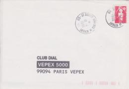 Lettre 1996 TàD Type A10 (sans Nom Du Département) Manuel Sur Briat : 05 ST DISDIER AGNIERES EN DEVOLUY Hautes Alpes - Marcofilia (sobres)