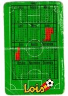 SPAIN CALENDARIO DE BOLSILLO CALENDAR HORARIOS ENFRENTAMIENTOS ALGUNOS PARTIDOS MUNDIAL FÚTBOL ESPAÑA 1982 LOIS SOCCER.. - Calendarios