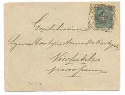 DA PARMA A VICOFERTILE - 22.5.1891. - 1878-00 Humberto I