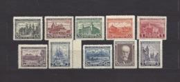 Czechoslovakia 1928 MNH ** Mi 267-276 Sc 142-151 10. Year Anniversary Of The Republic.Tschechoslowakei. C2 - Czechoslovakia