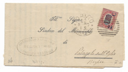 DA TORINO A PALAZZOLO SULL'OGLIO - 22.5.1880. - 1878-00 Humberto I