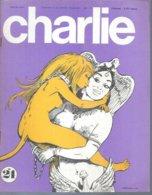 CHARLIE  N° 24    Couverture   BUZZELLI - Magazines Et Périodiques