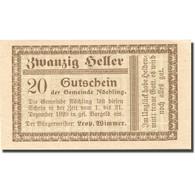 Billet, Autriche, Nöchling, 20 Heller, Valeur Faciale, 1920 SPL Mehl:FS 674 - Autriche