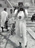 "IMAGE PHOTOGRAPHIE  1924 -  FRANCE J O DE PARIS -    JOHNNY WEISSMULLER FUTUR  ""TARZAN"" 3 MEDAILLES D OR - Otros"