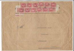 1947 - CERES MAZELIN - BEL AFFRANCHISSEMENT Sur ENVELOPPE GF 285X200 De RIOM ES MONTAGNE (CANTAL) - Marcophilie (Lettres)