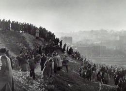 IMAGE PHOTOGRAPHIE  1946 -  FRANCE CYCLO CROSS A GENTILLY  -     ROBERT DOISNEAU - Otros