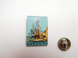 Beau Pin's En Relief , Marine Bateau Voilier  , Brest 92 - Barcos