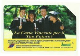 Italia - Tessera Telefonica Da 5.000 Lire N. 287 - 31/12/95 Centri Linguistici - Italia