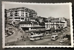Lausanne Place De La Gare/Oldtimer Autos/Trolleybus - VD Vaud