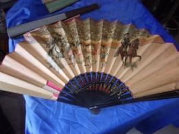 BEL  EVENTAIL ANCIEN TAUROMACHIE CORRIDA ESPAGNE - Eventails