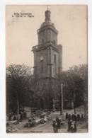 - CPA LESNEVEN (29) - Le Clocher De L'Eglise (jour De Marché) - Collection Villard 5154 - - Lesneven