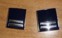 Gradi Metallo Maresciallo Polizia Pubblica Sicurezza - Obsoleti - Italian  Police Metal Ranks Obsolete - Turco (170) - Polizia