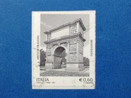 2011 ITALIA FRANCOBOLLO USATO STAMP USED PATRIMONIO ARCO DI TRAIANO BENEVENTO - 2011-...: Usati