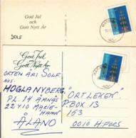 Aland : 1985 -  Lot De 2 Cartes Postales - Noël - Nouvel An - Aland