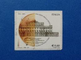 2011 ITALIA FRANCOBOLLO USATO STAMP USED PALAZZO DELLA ZECCA - 2011-...: Usati