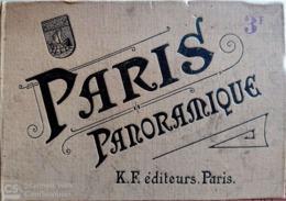 LIVRET Ancien De Vues De PARIS  (Complet)- 15 X 10,5 Cm - 31 Vues - Cartas Panorámicas
