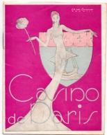 Programma Programme 1943 - Casino De Paris - Music Hall - - Programmes