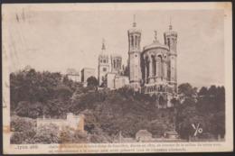 CPA - (69) Lyon - Abside De La Basilique De Notre Dame De Fourviere, élevée En 1872, Au Sommet De La Colline Du Meme Nom - Lyon
