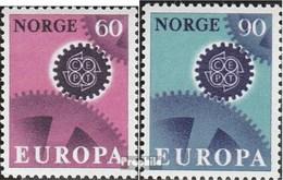 Norvège 555-556 (complète.Edition.) Oblitéré 1967 Europe - Norway