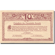 Billet, Autriche, Aurach, 10 Heller, Eglise, 1920, 1920-04-27, SPL, Mehl:FS 68a - Autriche