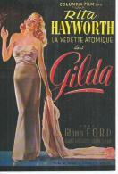 "E 53 - CHARLES VIDOR  "" GILDA "" RITA HAYWORTH / GLENN FORD / GEORGE MACREADY - Affiches Sur Carte"
