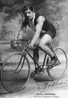 6977 CPM Cyclisme Lucien Pothier, Cyclistes De L'Yonne - Cyclisme