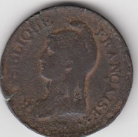 PIÈCE De MONNAIE , UN DÉCIME , L'AN 8 AA , République Française - 1789-1795 Monnaies Constitutionnelles
