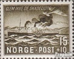 Norvège 296 Neuf Avec Gomme Originale 1944 Seekrieg - Norvège