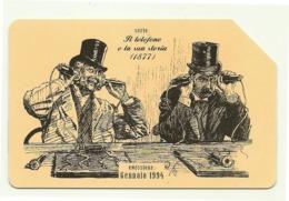 Italia - Tessera Telefonica Da 5.000 Lire N. 292 - 31/12/95 Storia Del Telefono - Italia