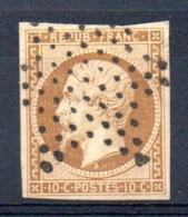 SUPERBE - YT N° 9a Signé Brun + Calves - Cote: 950,00 € - 1852 Luigi-Napoleone