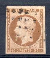YT N° 9d Signé  Calves - Cote: 1300,00 € - 1852 Louis-Napoléon