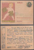 "Mi-Nr. P 208, Zudruck ""Riedel De Haen, Berlin"", Bedarf, Selten! - Alemania"