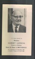 Image Mortuaire - Doodsprentje - Docteur Lippens - Bruyninckx - Gontrode - Ternat - 1887 - 1962 - Devotion Images