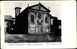 Cp Lido Di Ostia Roma Rom Lazio, Chiesa Di Sant' Aurea - Roma