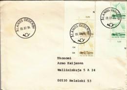 ALAND :  1984 - Lettre Pour La Finlande - - Aland