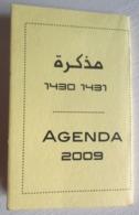 AGENDA ARABE 2009 CALENDRIER 1430 - 1431 MAROC - Non Classés