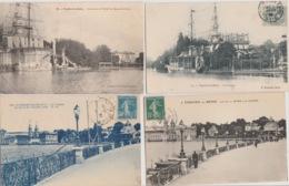 19 / 9 / 372  - ENGHIEN. ( 95 )  LOT  DE  9  CPA  &  3   C P S M - Cartes Postales