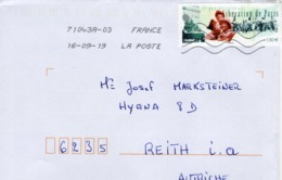 Auslands - Brief Von 80000 Amiens Mit 130 Cent 75. Anniversaire De La Liberation De Paris 2019 - 2018-... Marianne L'Engagée