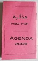 AGENDA ROSE 2009 CALENDRIER ARABE 1430 - 1437 MAROC - Non Classés