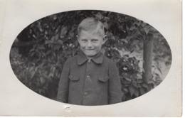 Porträt Eines Buben Jungen Ca 1940 - Abbildungen