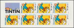 Markenheftchen 54 Tag Der Briefmarke - Comicfigur Tintin (Tim), ** - Markenheftchen