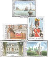 Belgien 2429-2433 (kompl.Ausg.) Postfrisch 1990 Tourismus - Belgien