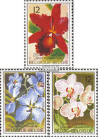 Belgien 2215-2217 (kompl.Ausg.) Postfrisch 1985 Genter Blumenschau - Belgien
