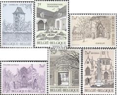 Belgien 2106-2111 (kompl.Ausg.) Postfrisch 1982 Tourismus - Belgien