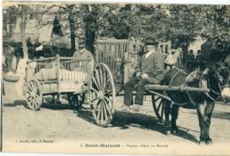 79 - Saint Maixent L' Ecole : Paysan Allant Au Marché - Saint Maixent L'Ecole