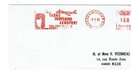 FLAMME : TABAC - Souvenirs     AJACCIO 1982 - Medicina