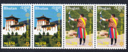 BHUTAN 2006 Europe Stamps Se-tenant Pair MNH !!! Rare !!! Bhoutan - Bhutan